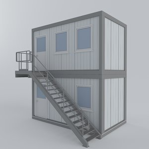 3D container office