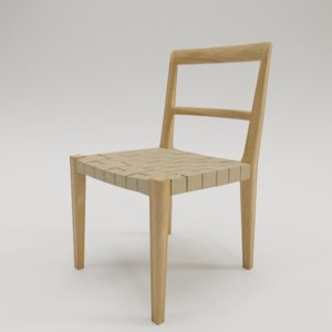 3D mimat chair bruno mathsson