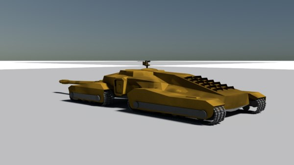 tank mamooth 3D model