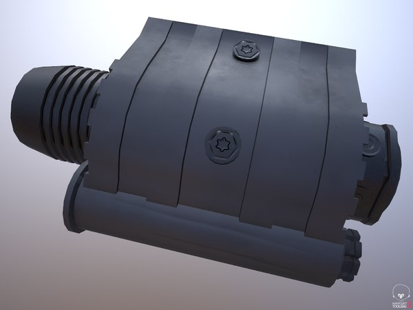 3D rifle flash light -