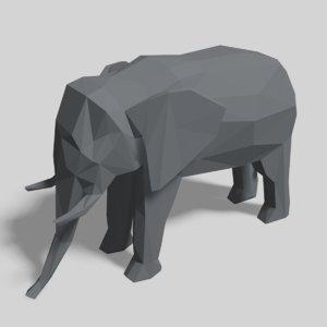 animals nature mammal 3D model