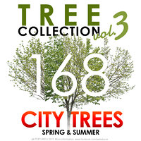168 Tree Collection vol. 3 - CITY TREES Spring & Summer
