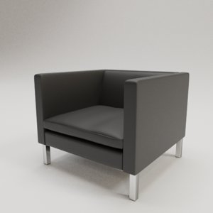 lounge chair jorgensen 3D model