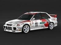 Mitsubishi Lancer Evolution 3 Rally Car