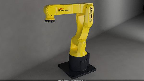 fanuc lr mate 2000id 3D model
