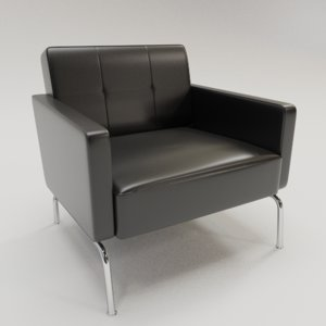 lounge chair erik jorgensen 3D