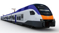 3D high-speed electric trains