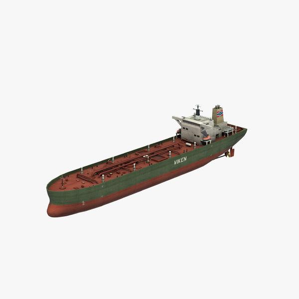 kronviken oil tanker 3D