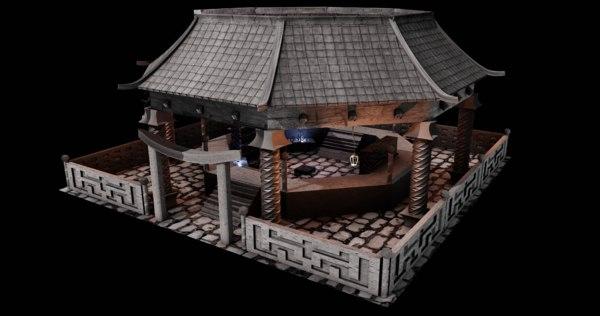 building architecture 3D