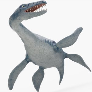dinosaurs rigged model