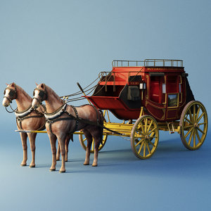 3D carriage cab