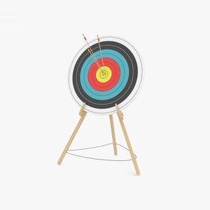 3D archery sport model