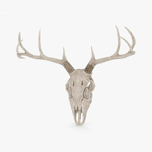 skull deer 3D model
