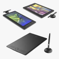 3D graphics tablets wacom model