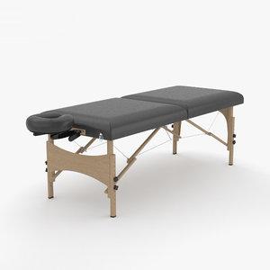 3D massage table