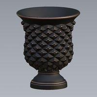 3D urn grunge