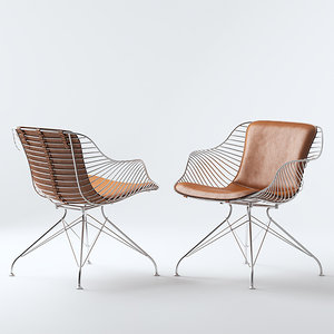 wire chair model