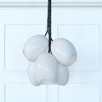 3D porcelain cluster farrah sit