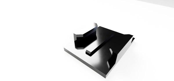 gopro quick release 3D model