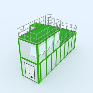 block-modular building 3D