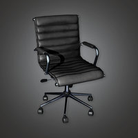 Bank Chair 2 (BHE) - PBR Game Ready