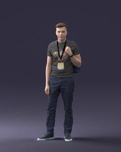3D bag man t