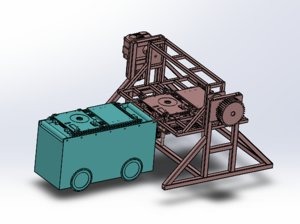 rotating agv 3D