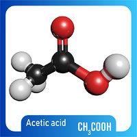 ch3cooh acetic acid model