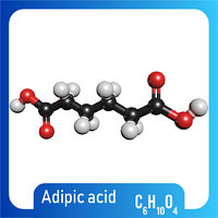 Adipic acid 3D Model C6H10O4