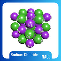 nacl 3D Model Lattice Structure NaCl