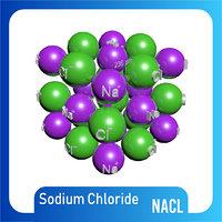 na-cl molecule structure 3D model