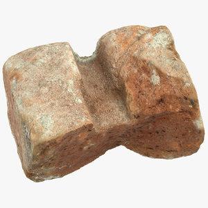 brick piece 05 3D model