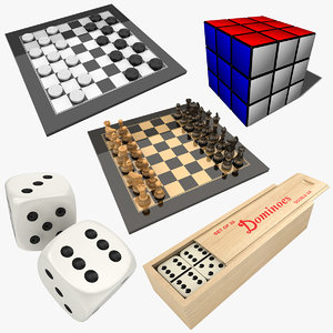 games rubik s 3D model