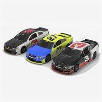 Chevrolet SS NASCAR Season 2017 Race Car Collection
