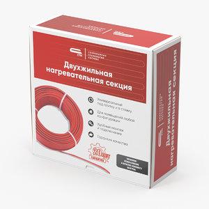 3D carton box