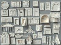 Building Facade Collection-4 - 40 pieces