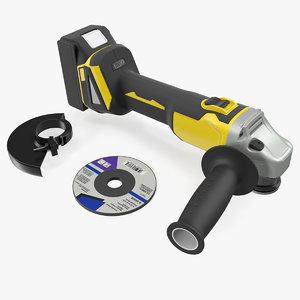 angle grinder kit model