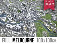 melbourne area urban 3D