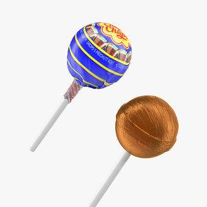 3D lollipop cola chupa chups