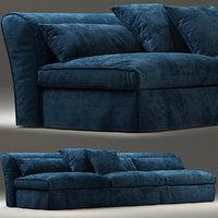3D sofas seat furniture