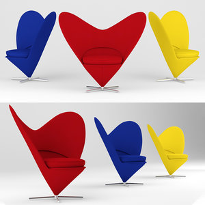 3D lounge chairfurniture model