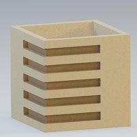 urn marble concrete 3D