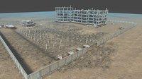 house building constructor 3D model