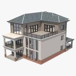 obj townhouse designed