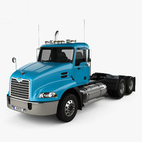 Mack Vision CXN613 Day Cab Tractor Truck 3-axle 2007