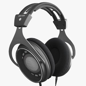 3D shure srh1840 headphones