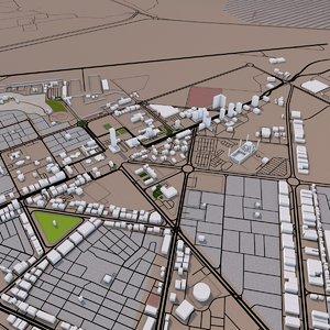 3D al fujairah roads street