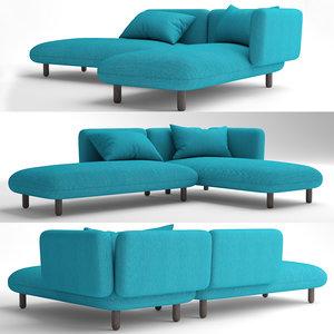 3D sofa furniture