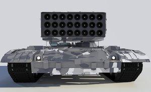 3D heavy buratino