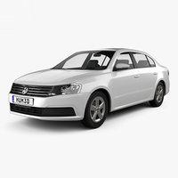 volkswagen lavida 2015 3D model